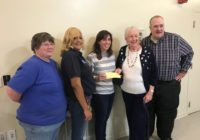 Presentation of check for $2000 to Camp Dogwood