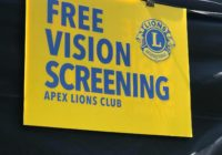Free Vision Screening Sign