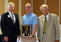 Lion John Lynde receives VIP Fishing Tournament award