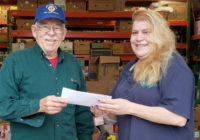 Apex Lions Charitable Fund donates $2500 to Western Wake Crisis Ministry